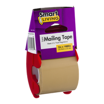 Smart Living Tan Mailing Tape