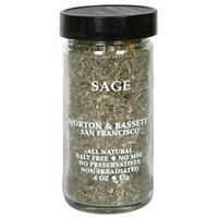 Morton & Bassett Sage, .4-Ounce Jars (Pack of 3)