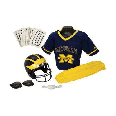 Franklin Sports Michigan Football Deluxe Uniform - Medium