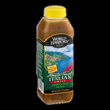 World Harbors Amalfi Coast Italian Grill Marinade with Roasted Garlic