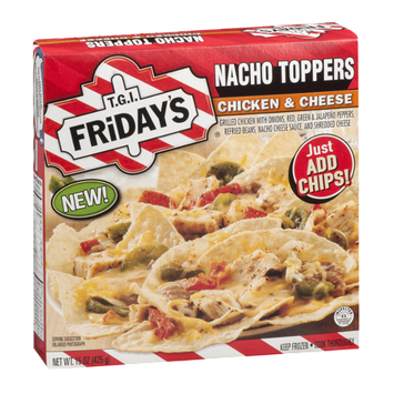 T.G.I Friday's Nacho Toppers Chicken & Cheese