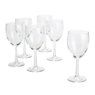 Essential Home Six-Piece Goblet Set Six Star