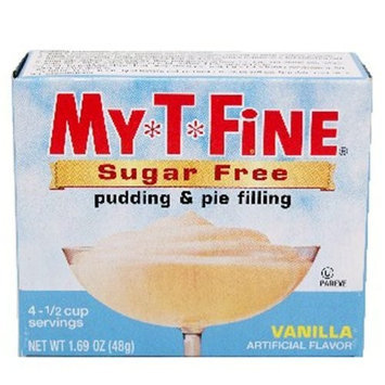My-t-fine My T Fine Pudding, Sugar Free, Vanilla, 1.7-Ounce (Pack of 12)