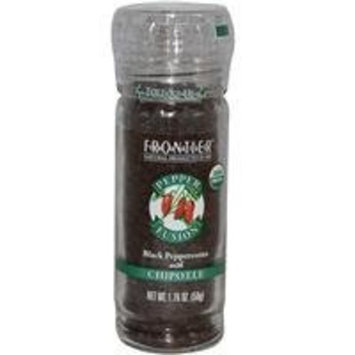 Frontier Natural Products Black Peppercrns, Og, Chptl, 1.76-Ounce