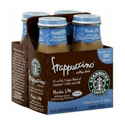 Starbucks Coffee Starbucks Frappuccino Mocha Lite Coffee Drink 9.5 oz
