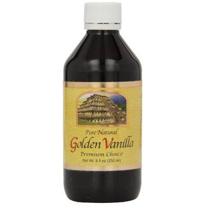 Golden Pure Natural Mexican Vanilla, 8-Ounce (Pack of 4)