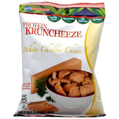 Generic Kay's Naturals White Cheddar Cheese Protein Kruncheeze, 1.2 oz, (Pack of 6)