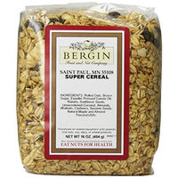 Bergin Nut Company Super Cereal Granola, 16-Ounce Bags (Pack of 3)