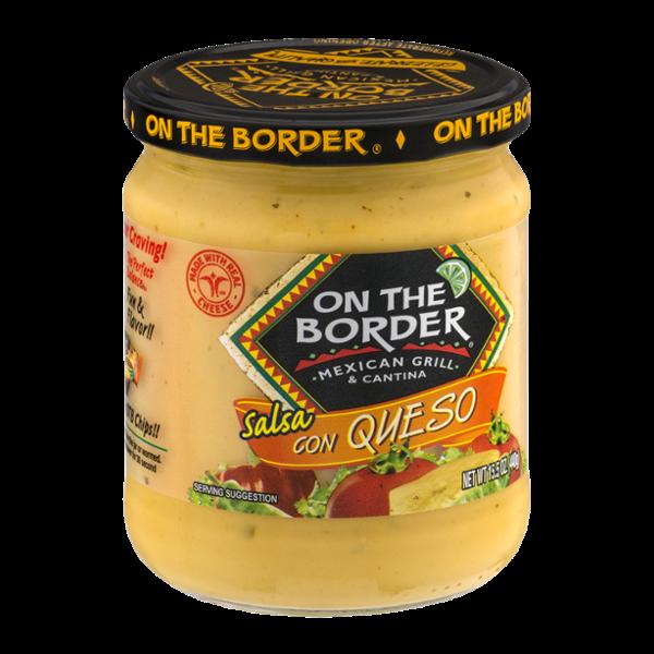 On The Border Salsa Con Queso