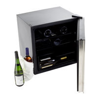 Equator Advanced Appliance Equator - Midea 16-bottle Wine Cooler - Black/stainless Steel