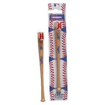 Pursonic Officially Licensed MLB Baseball Bat Team Toothbrushes - Los