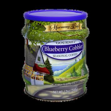 Harmony Bay Gourmet Blueberry Cobbler Seasonal Ground Coffee