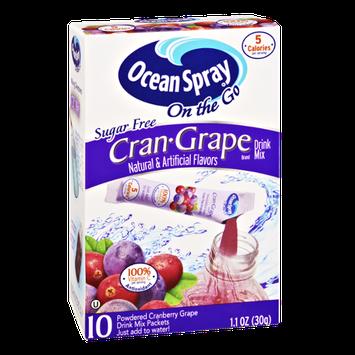Ocean Spray On The Go Cran-Grape Sugar Free Drink Mix