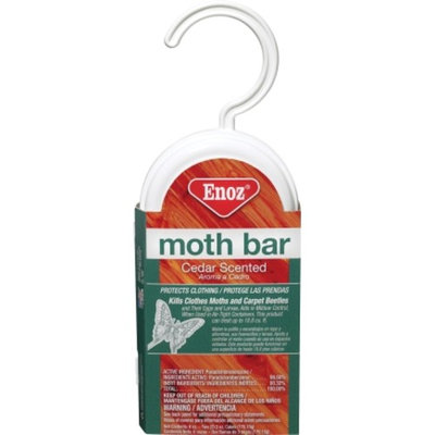 Enoz Willert Home 6 Oz. Cedar Scented Moth Bar (495.6T)- 6 Pack