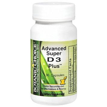 Botanic Choice Advanced Super D3 Plus Dietary Supplement Capsules