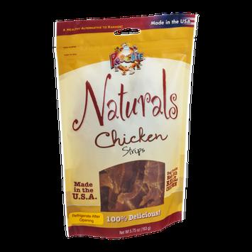 Poochie Naturals Dog Treat Strips Chicken