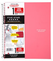 Five Star® Trend Wirebound Wide Ruled Notebook - 1 Subject - Student Notebooks