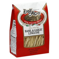 Dell' Alpe Basil Garlic Linguine, 8-Ounce (Pack of 6)