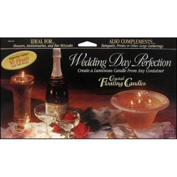 Pepperell PEPWDFC500 Floating Candle Wedding Day Perfection