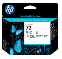 Hewlett Packard C9380a No. 72 Gray And Photo Black Printhead