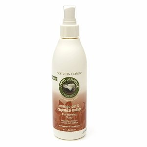 Roots of Nature Remedies Mango Oil & Cupuacu Butter Curl Reviving Spray