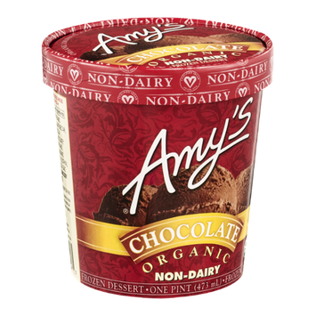 Amy's Frozen Dessert Non-Dairy Chocolate
