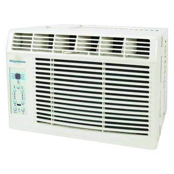 Keystone Energy Star 6,000 BTU 115V Window-Mounted Air Conditioner with