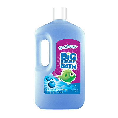 Scrubbles Blastin' Blueberry Scent Big Bubble Bath