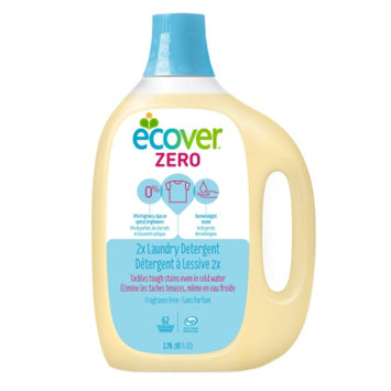 Ecover Liquid Laundry Detergent, 62 Loads, Fragrance Free, 93 fl oz