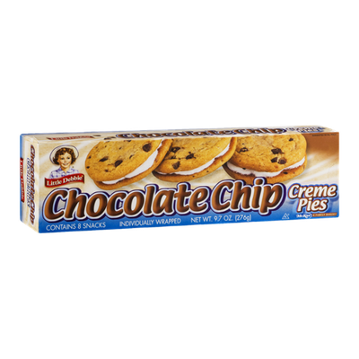 Little Debbie Chocolate Chip Creme Pies - 8 CT
