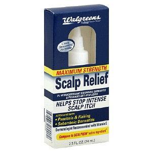 Walgreens Scalp Relief Anti-Itch Liquid