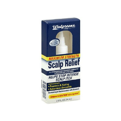 Walgreens Scalp Relief Anti-Itch Liquid