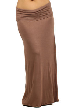 Plus Maternity Maxi Skirt - Online Exclusive