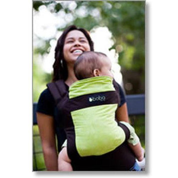 Sleepy Wrap Boba Organic Carrier - Pine dark brown green