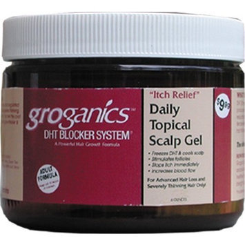 Groganics Daily Topical Gel, 6 Ounce
