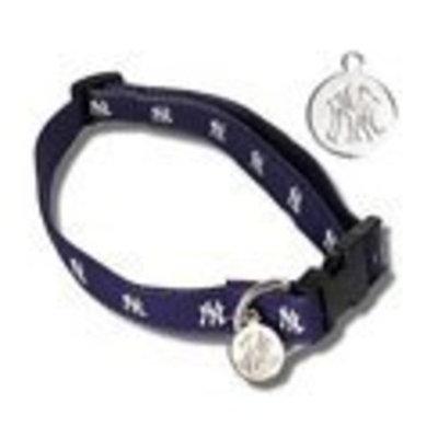 Sporty K9 York Yankees - Dog Collar Sm