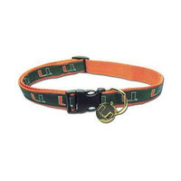 Sporty K9 Dog Collar - University of Miami