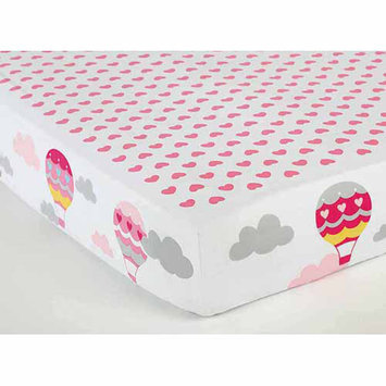 Child of Mine by Carter's Love is in the Air Multi-Print Crib Sheet