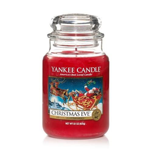 Yankee Candle Christmas Eve 22 oz #YANK-22-XEVE - Holiday Yankee Jar Candles