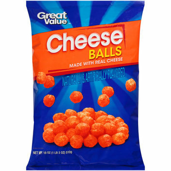 Great Value Cheese Balls