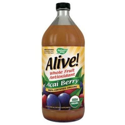 Nature's Way Alive! Organic Acai Juice, 32 Ounce