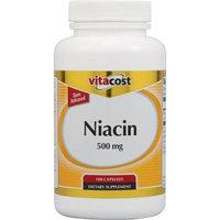 Vitacost Brand Vitacost Time Release Niacin -- 500 mg - 100 Capsules