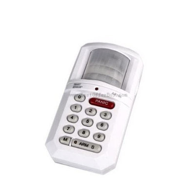 Smart Sensor Programmed Codes Motion Activated Alarm - Keep Your House Safe
