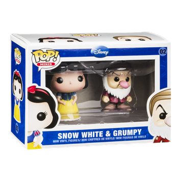 Pop! Minis Disney Vinyl Figure Snow White & Grumpy 02