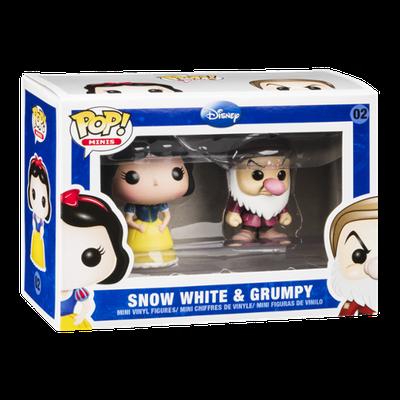 Pop! Minis Disney Vinyl Figure Snow White & Grumpy 02