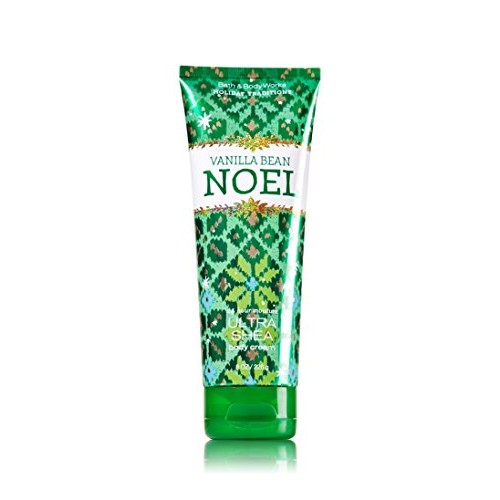 Bath & Body Works Vanilla Bean Noel 8.0 oz Ultra Shea Body Cream