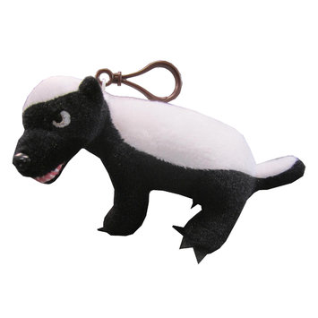 License-2-play Randall's Honey Badger Talking Plush Clip On PG Rated Version