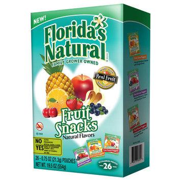 Florida's Natural Fruit Snacks, 0.75 oz, 26 ct