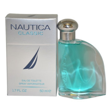 Nautica Classic Men's Eau De Toilette Spray, 1.7 fl oz