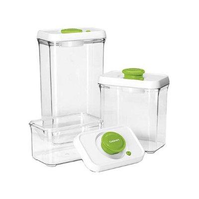 Cuisinart CFS-TC-S6G Fresh Edge Patented Vacuum-Seal Food Storage System, Green